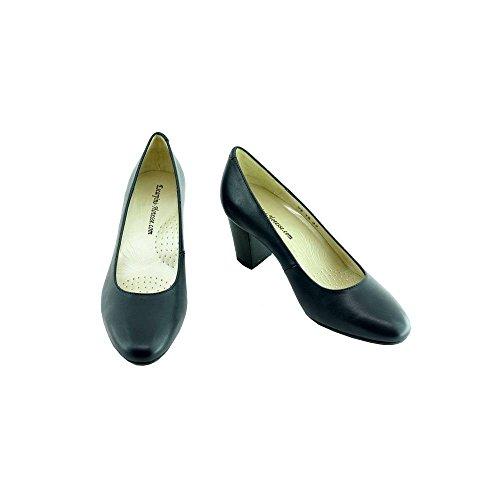 d'Hotesses Voltige Escarpins Schuhe Stewardess Blau 8RqHxa