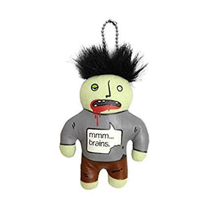 A Crowded Coop - Zombie porte-cls peluche by Crowded Coop