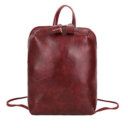 - Girls Student Back to School Backpack,Realdo Children Solid Daypack Satchels Shoulder Handbag