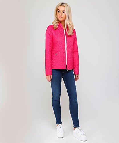 Da Jacobsen Warm leggera giacca Ilse Donna PINK Pink WARM trapuntata ZwBqRxna