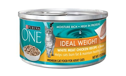 Purina One Ideal Weight White Meat Chicken Recipe (12 CANS) (NET WT 3 OZ EACH) (Healthy One Purina Weight)