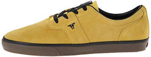 FALLEN Skateboard Shoes CHIEF XI DARK YELLOW/GUM THOMAS Sz 10.5