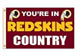 Fremont Die NFL Washington Redskins 3-by-5 Foot In Country Flag
