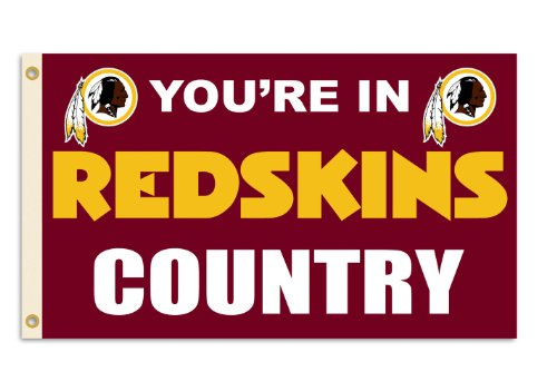 NFL Washington Redskins 3-by-5 Foot