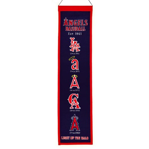 Winning Streak Sports MLB Los Angeles Angels Heritage Banner from Winning Streak