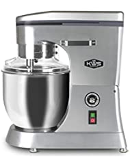 KWS M-B12 Commercial 1400W Stand Mixer, 12 Quarts Silver Heavy-Duty for Restaurant/Bakery /Tea Shop/Coffee Shop