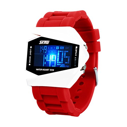 Led Watch Red Light - 6