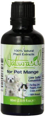 Naturasil Pet Mange Treatment for Sarcoptic and Demodectic Mange, 60 ml
