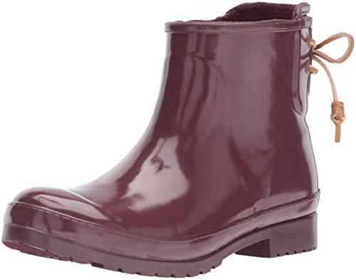 SPERRY Women's Walker Turf Rain Boot, Grape, 11 M US ()