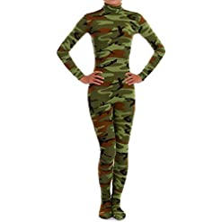 VSVO Spandex Zentai Unitard Catsuit for Adults and Children