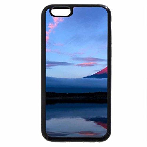iPhone 6S Case, iPhone 6 Case (Black & White) - Mt. Fuji