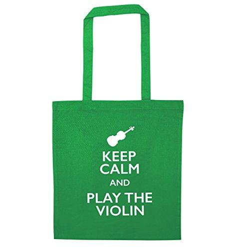 Green Bag Flox Violin and Creative Calm Keep Play Tote ROwx1Of8n