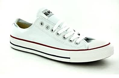 Converse All Star OX Men's Sneakers Style# M7652 (7.5, White)