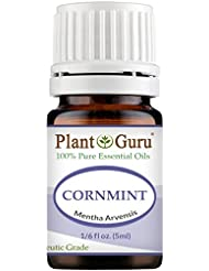 Cornmint Essential Oil 5 ml. (Japanese Peppermint) 100% Pure Undiluted Therapeutic Grade.