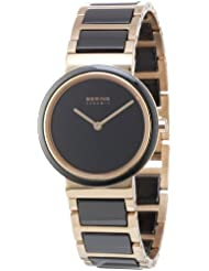 BERING Time 10729-746 Womens Ceramic Collection Watch with Stainless steel Band and scratch resistant sapphire...