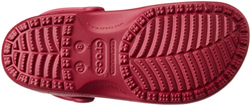Crocs Classic, Zoccoli Unisex – Adulto Viola (Pomegranate)
