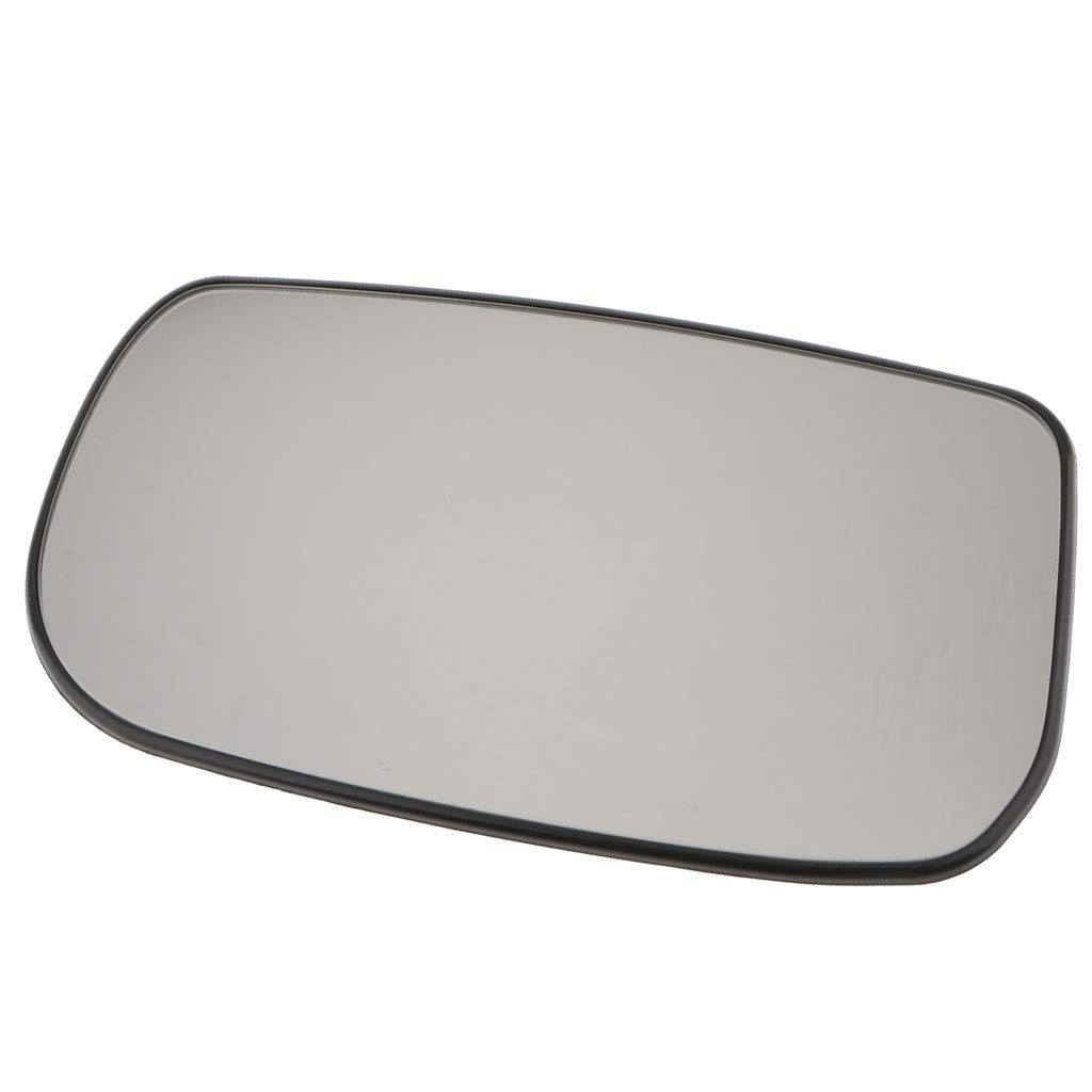 F Fityle Right Side Door Heated Mirror Glass Plate Silver Tinted for Honda Civic 01-05