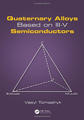 Quaternary Alloys Based on III-V Semiconductors-cover