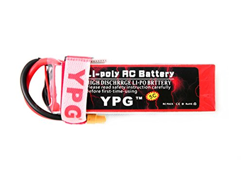 GARTT YPG LiPo Battery Pack 4200mAh 40C 6S 22.2V with XT60 Plug for RC Align Trex 470L Dominator 500 550 Helicopter Airplane Car Boat Truck