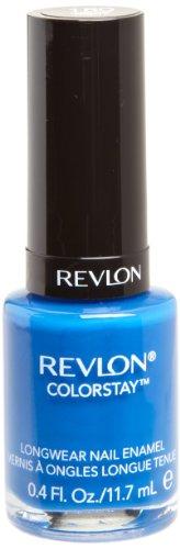 REVLON Colorstay Nail Enamel, Indigo Night, 0.4 Fluid Ounce