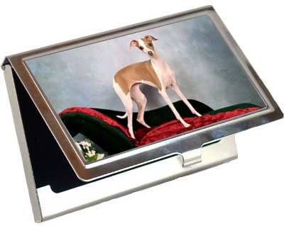 Credit Card Case Italalian Greyhound Business Card