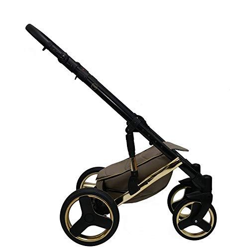Kinderwagen 2in1 3in1 Isofix Buggy Autositz Premium Comodo G by Ferriley /& Fitz Black 28 2in1 ohne Babyschale