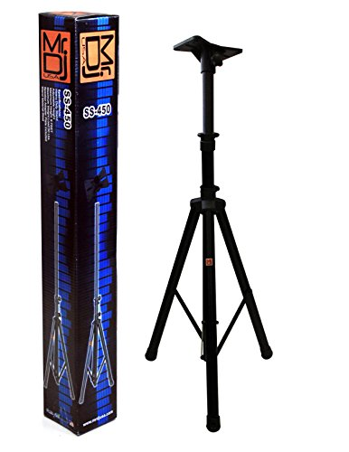 Tripod DJ Speaker Stand with Mounting Plate (Pyramid Studio Speakers)
