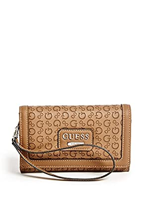 GUESS Women's Bridgewater Logo Tech Wristlet