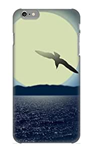 Case For Iphone 6 Plus Tpu Phone Case Cover(animal Seagull Bird) For Thanksgiving Day's Gift