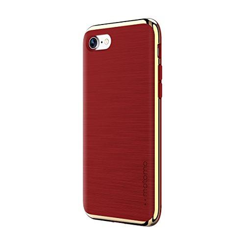 motomo iPhone 8 ケース/iPhone 7 ケース INFINITY アイアンレッド クロームゴールド アイフォン カバー【日本正規代理店品】