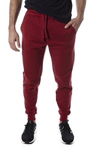 Price comparison product image Vertical sport Men's fleece Jogger (Red,  Medium)