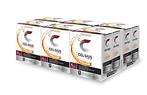 CELSIUS Sparkling Fitness Drink 4 Packs