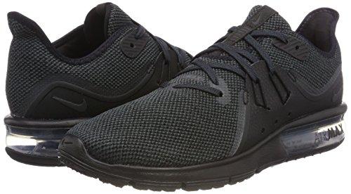 Max Anthracite Sequent Air Black Nike Shoe 3 Men's Running Eq64C8w