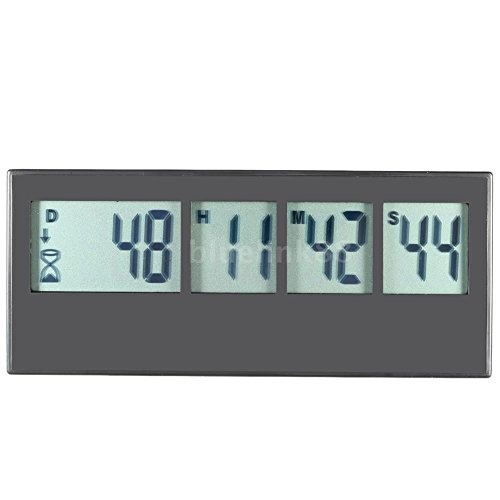 LCD Digital Kitchen Timer Countdown UP Industrial Cooking Timer Alarm (Halloween Spin List)