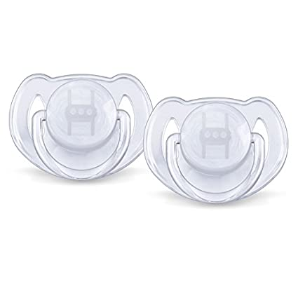 Avent chupetes transparente 6 - 18 meses.Sin BPA 2 ST ...