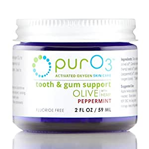 PurO3 Tooth and Gum Support (Peppermint)