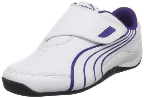 PUMA Drift Cat III New CL H&L Sneaker (Toddler/Little Kid/Big Kid),White/White/Heliotrope,6 M US Toddler ()