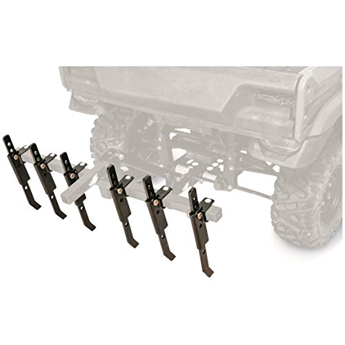 Black Boar ATV/UTV Plow Implement, Breaks Up Hard Ground w/6 Independently Adjustable Chisels, Use to Cultivate, Establish Food Plot, Maintain Land ()