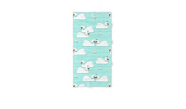 Society6 Serene cisnes mano y toalla de baño, multicolor, Toalla de baño: Noonday Design: Amazon.es: Hogar