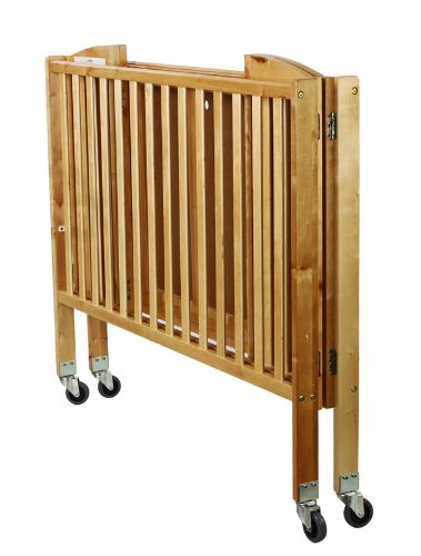 Dream On Me Folding Full Size Convenience Crib, Natural by Dream On Me (Image #2)