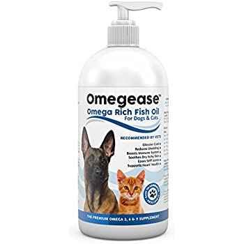 100 Pure Omega 3 6 9 Fish Oil For Dogs