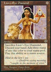 Magic: the Gathering - Lion's Eye Diamond - Mirage by Magic: the Gathering