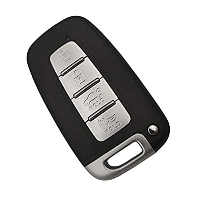 Kell Shell The Best for 4 Buttons New Replacement Keyless Entry Remote Key Fob Fits Hyundai Genesis Azera Sonata Elantra Equus Elantra GT/Kia Borrego Forte Optima Sorento Soul Sportage Optima Rio: Car Electronics