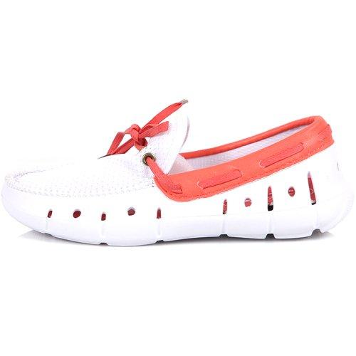 Nuevo Summer Beach Water Aqua Comfort Boat Slip Para Mujer En Zapatos Ligeros Blanco