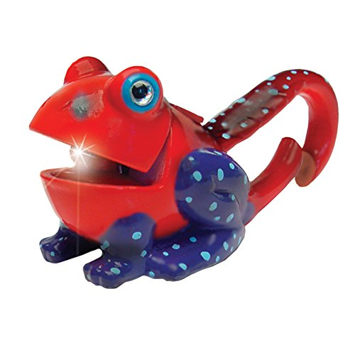 - Sun Company Lifelight Animal Carabiner Flashlight - Red Frog | Cute Animal Keychain Lights