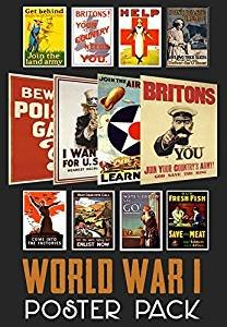World War 1 Propaganda Poster Pack  WWI - ideal for schools