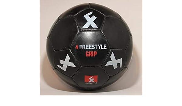 4 Freestyle balón fútbol Frestyle gripball Negro: Amazon.es ...