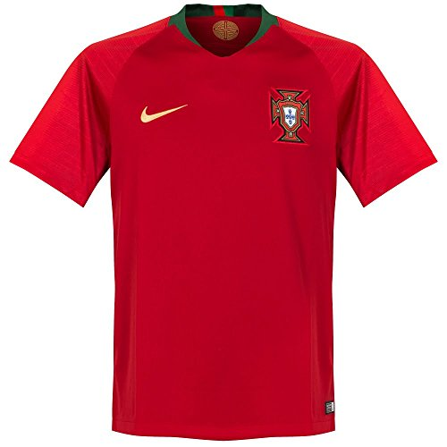 NIKE Men's Soccer 2018 Portugal Stadium Home Jersey