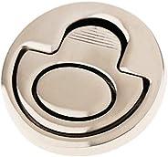 Homyl Flush Ring Pull 316 Stainless Steel Ring Pull Handle Marine Flush Lifting Handle, Round Grip