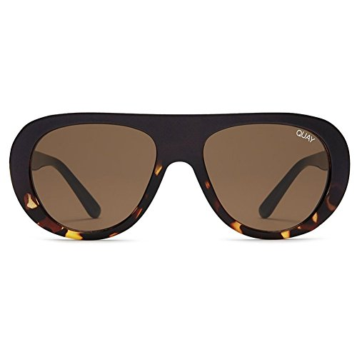 Quay Bold Move Sunglasses | Modern Frames - Reflective Lens | UV - Sunglasses Needing Quay Fame